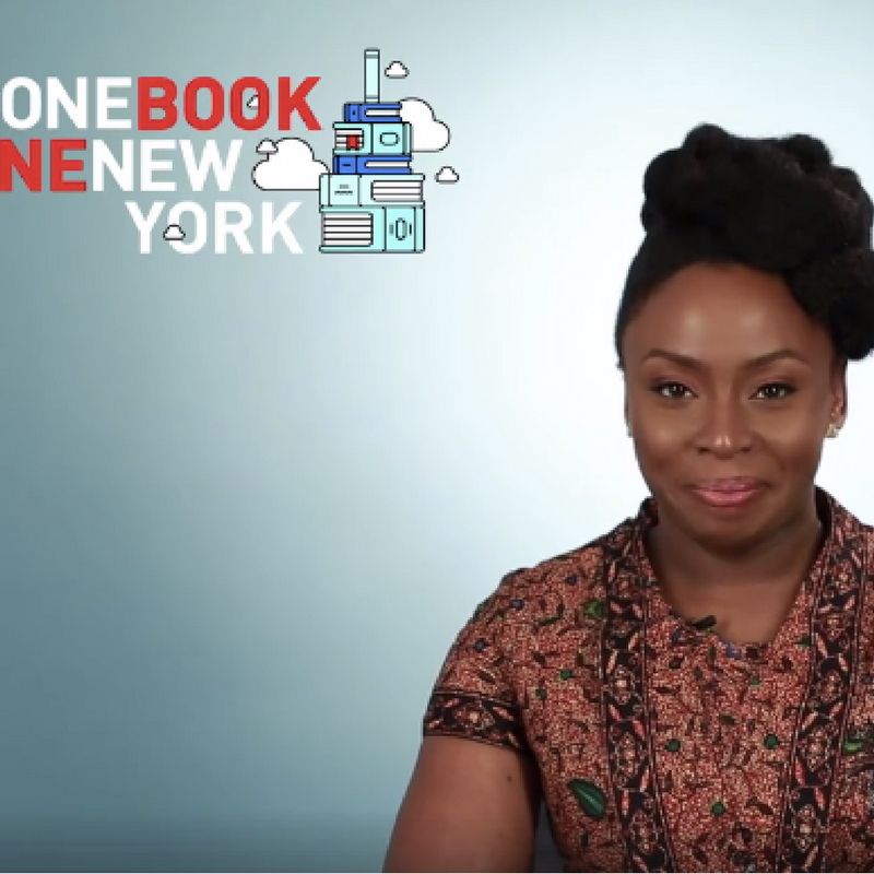 CHIMAMANDA ADICHIE'S 'AMERICANAH' WINS 'ONE BOOK, ONE NEW YORK' CONTEST
