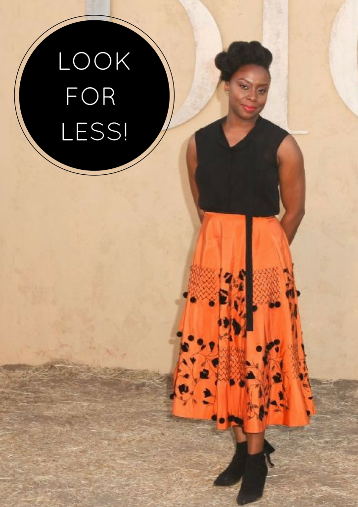 GET CHIMAMANDA'S LOOK AT THE DIOR CRUISE SHOW FOR LESS THAN N25,000!