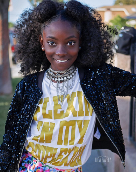 FLEXIN' IN MY COMPLEXION: 10-YEAR-OLD LAUNCHES EMPOWERING CLOTHING LINE AFTER BEING BULLIED