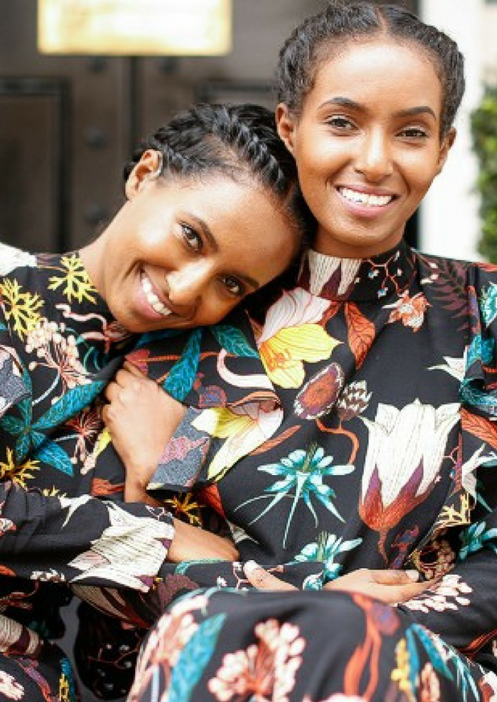 MEET THE ERITREAN-ETHIOPIAN TWIN SISTERS CHANGING THE FASHION GAME DESPITE THEIR DISABILITY