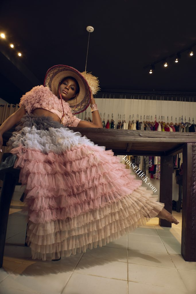SCHICK EXCLUSIVE: SEYI SHAY MUSES S/S 18 LOOKS BY DNA  BY ICONIC INVANITY, MOOFA AND GOZEL GREEN