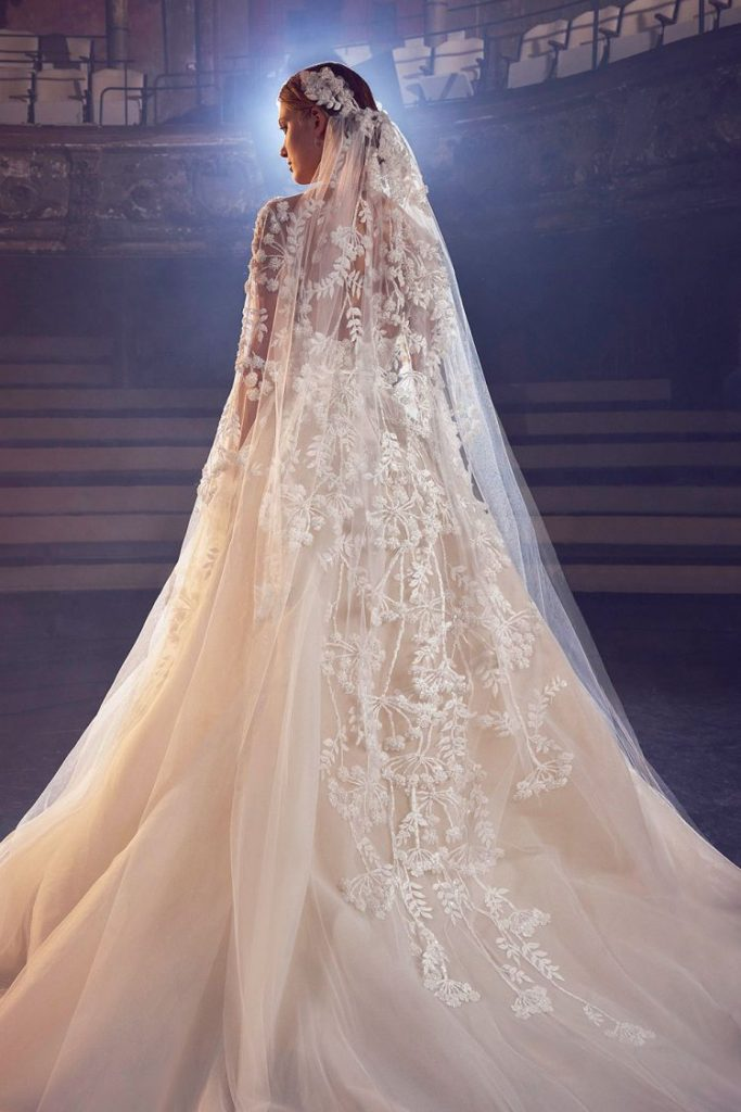 REGAL SILHOUETTES FOR ELIE SAAB BRIDAL FALL 2018 COLLECTION - SCHICK