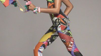 VERSACE PRESENTS A SUPERMODEL-STUDDED SPRING 2018 AD CAMPAIGN