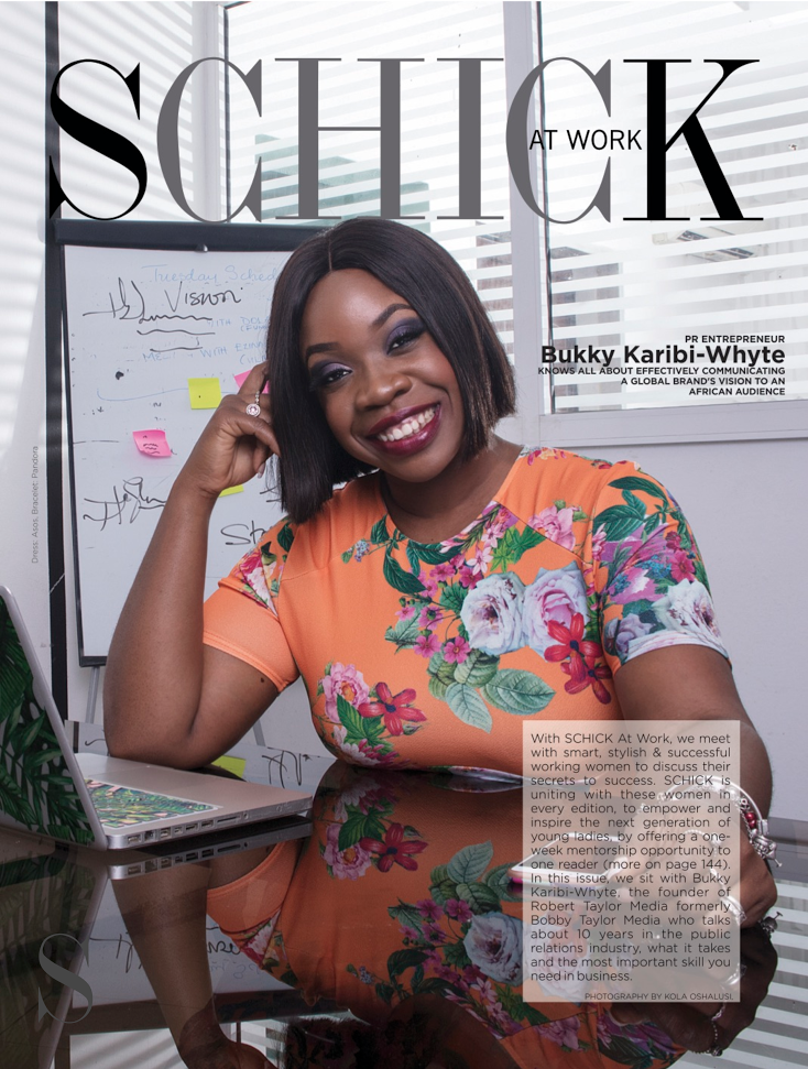 SCHICK AT WORK WITH BUKKY KARIBI-WHYTE OFFERS ONE-WEEK MENTORSHIP OPPORTUNITY