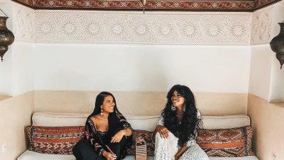 #SCHICKESCAPE: ASIYAMI GOLD AND NNEKA JULIA ARE TRAVEL BUDDY GOALS IN MARRAKESH