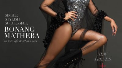 SCHICK'S SPRING ISSUE: BONANG MATHEBA IS THE NEW COVER STAR!