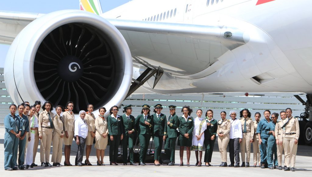 ETHIOPIAN AIRWAYS LAUNCHES FLIGHT TO BUENOS AIRES WITH ALL-FEMALE CREW!