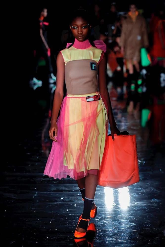 FEW MODELS COMPETITION FINALIST ENIOLA ABIORO BECOMES FIRST NIGERIAN TO MAKE AN INTERNATIONAL DEBUT FOR PRADA