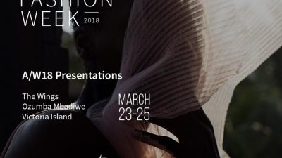 THE OFFICIAL SCHEDULE OF LAGOS FASHION WEEK A/W PRESENTATIONS 'SEASONS'