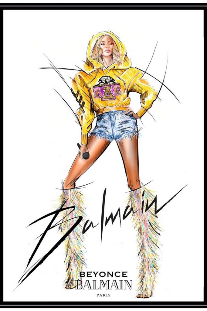 A LOOK INTO THE MESSAGE BEHIND BALMAIN'S DESIGNS FOR #BEYCHELLA