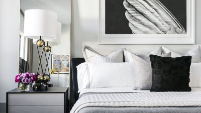BLACK AND WHITE BEDROOM INSPIRATION THAT'S JUST PERFECT FOR YOU