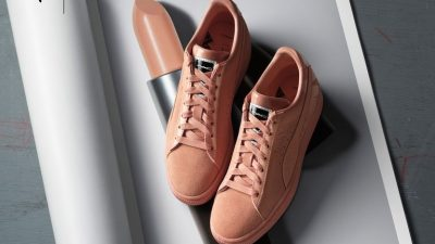 PUMA COLLABORATES WITH M.A.C. ON SUEDE SNEAKERS INSPIRED BY POPULAR LIPSTICK SHADES