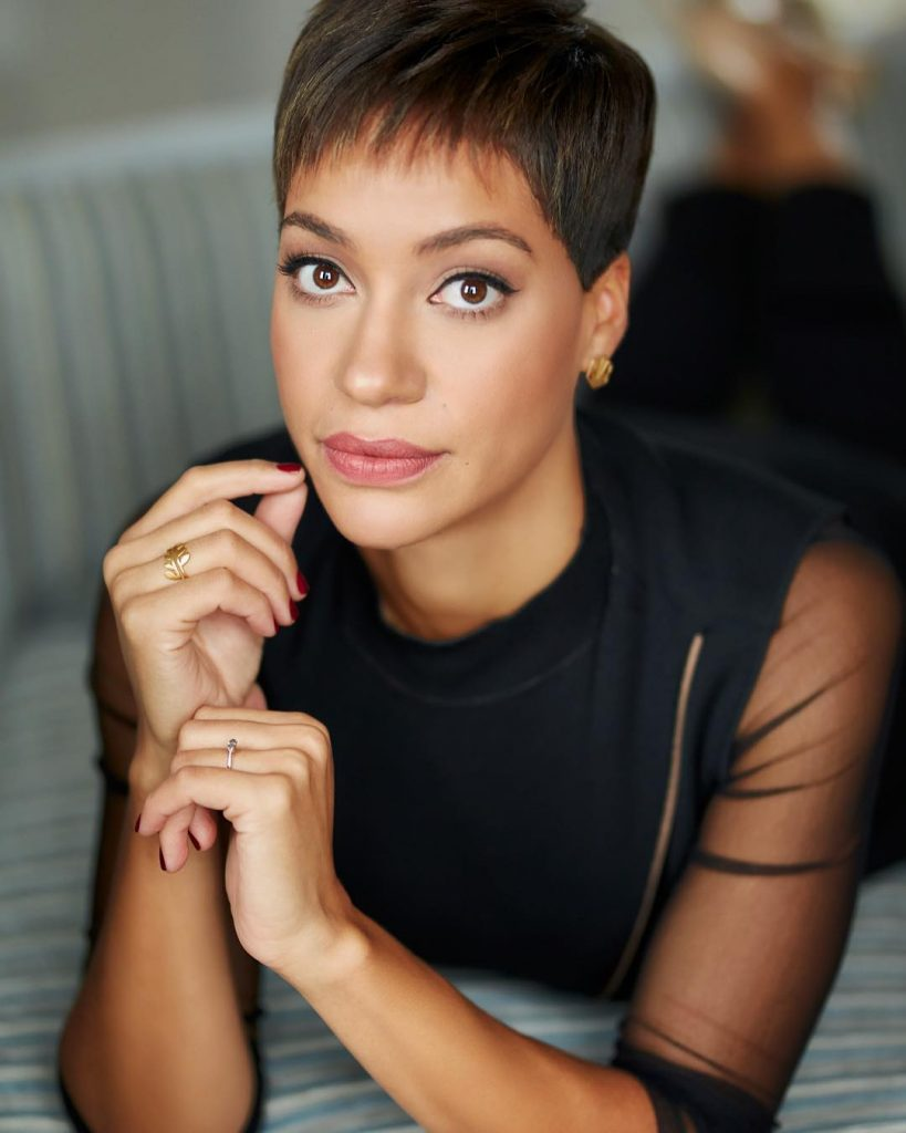 #SCHICKWOMAN: CUSH JUMBO IS A BRITISH-NIGERIAN STAR OF THE BRITISH STAGE