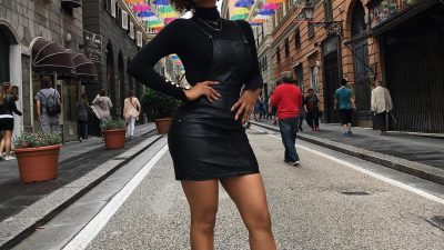 #SCHICKESCAPE: AYANDA THABETHE LIVED IT UP IN GENOA, ITALY