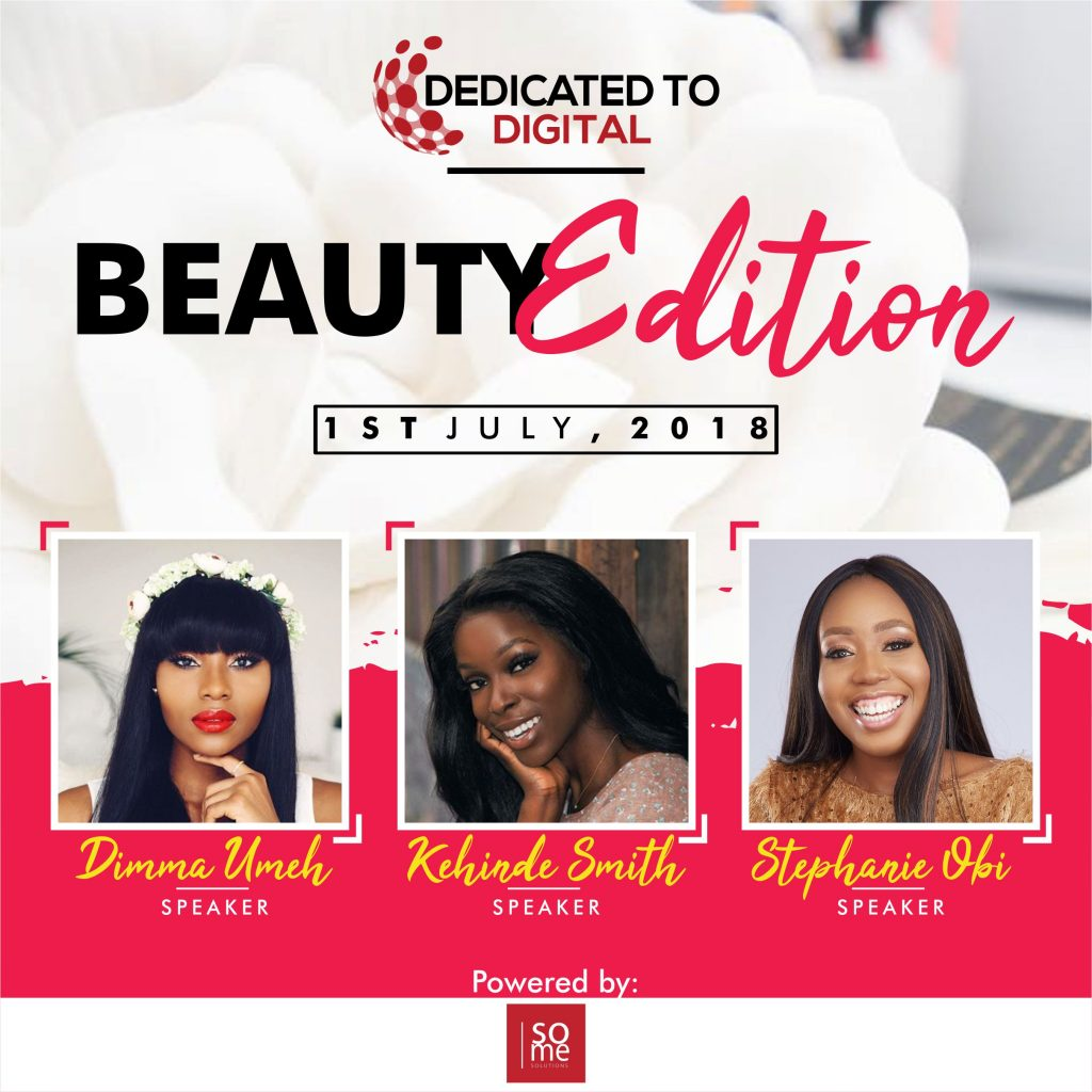 DEDICATED TO DIGITAL IS BACK WITH ITS BEAUTY EDITION MASTERCLASS