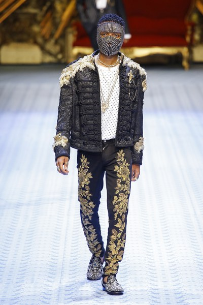WIZKID, TINIE, DAVIDSON AND MORE GRACE THE DOLCE & GABBANA S/S 19 RUNWAY