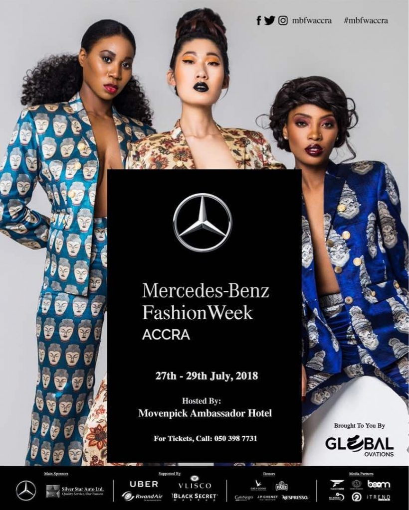 STRAP YOUR HEELS AND STRAIGHTEN YOUR TIES! MERCEDES-BENZ FASHION WEEK ACCRA IS HERE!