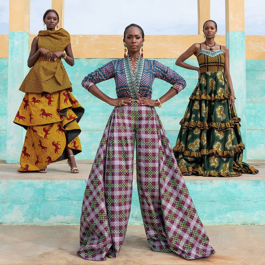 #TRADTUESDAY: VLISCO'S NEW CAMPAIGN CAPTURES THE STYLISH AMAZONS OF BENIN AND THE TRADITION OF ASO EBI