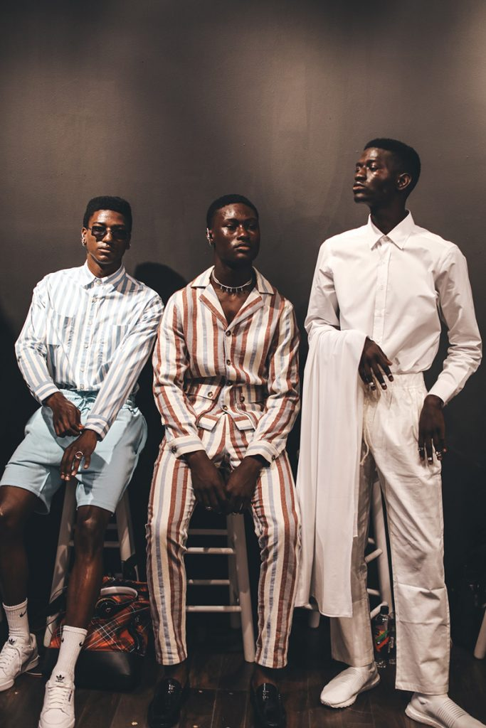 19 YEAR OLD NIGERIAN DESIGNER TAOFEEK ABIJAKO BECOMES THE YOUNGEST DESIGNER TO PRESENT NEW YORK FASHION WEEK
