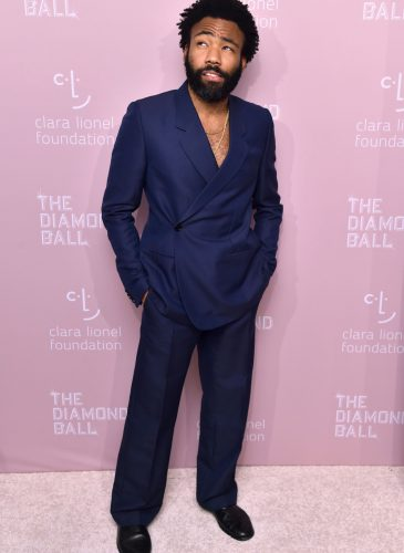 4th Annual Clara Lionel Foundation Diamond Ball, Arrivals, New York, USA - 13 Sep 2018