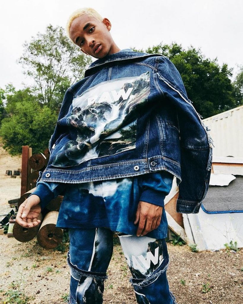 JADEN SMITH TEAMS UP WITH G STAR RAW FOR 'FORCES OF NATURE'
