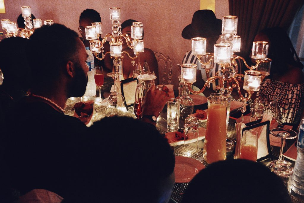 #SCHICKPARTIES: ALEXANDER-JULIAN HOSTS AN EXCLUSIVE FASHION WEEK LATE-NIGHT DINNER AT THE HOUSE IN LAGOS