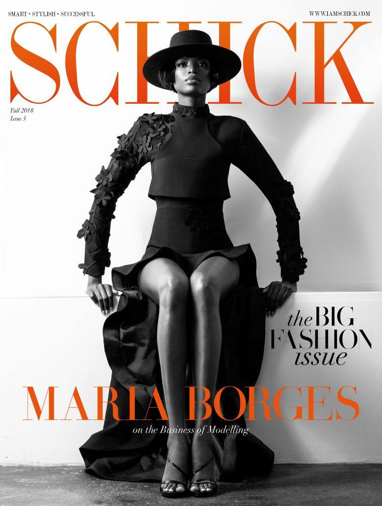 SCHICK'S BIG FASHION ISSUE: MARIA BORGES IS THE NEW COVER STAR!