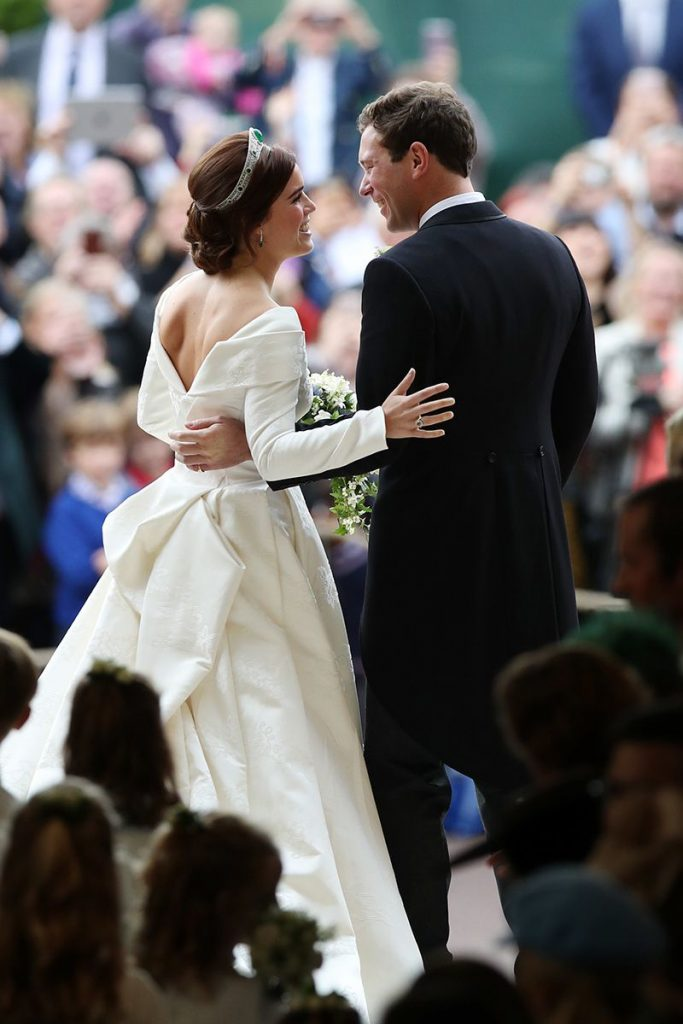 A PICTORIAL STORY OF PRINCESS EUGENIE AND JACK BROOKSBANK'S #ROYALWEDDING