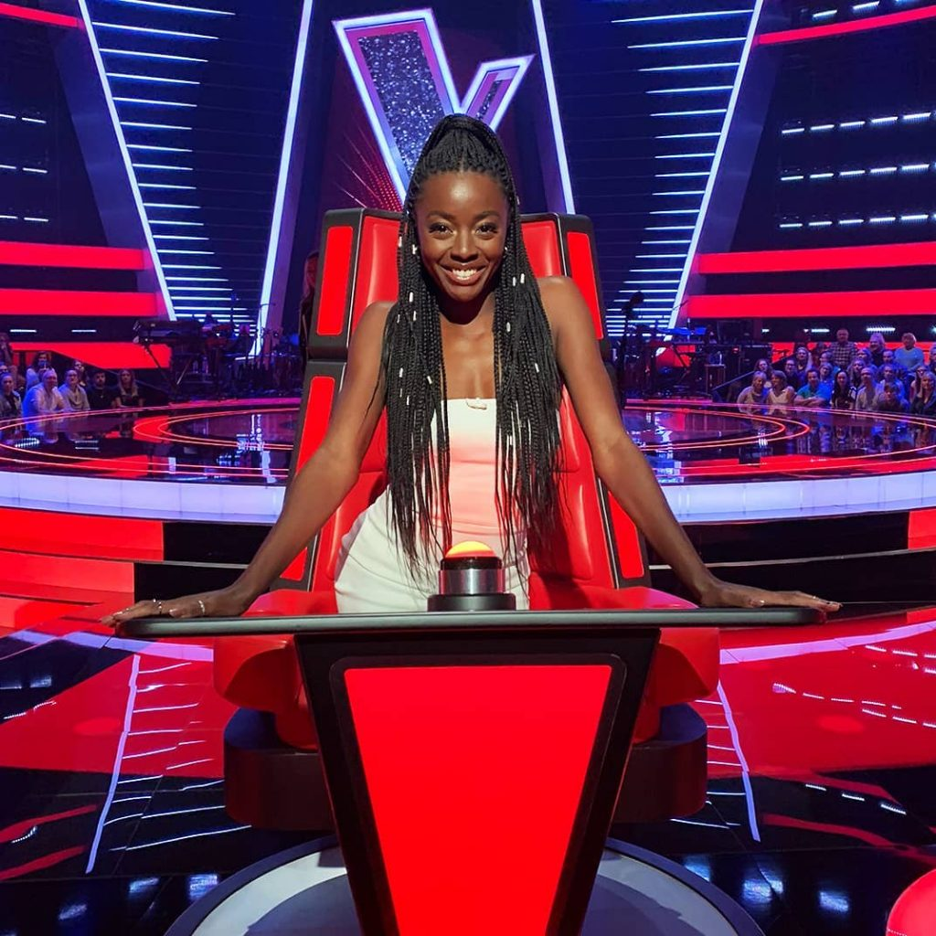 FROM SEARCHING FOR HER NIGERIAN PRINCE TO FINDING HERSELF ON THE VOICE UK! AJ ODUDU IS A RISING STAR