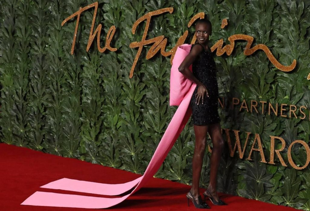 BEST DRESSED: ALEK WEK, ADUT AKECH, MARTHA HUNT AND MANY MORE AT THE 2018 BRITISH FASHION AWARDS