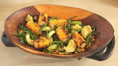 FITFAM MEAL: GRILLED CORN SALAD